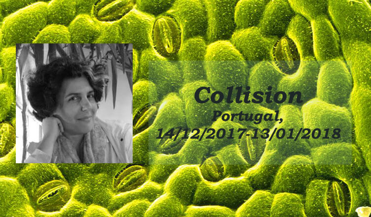 Συμμετοχή της Επ. Καθηγήτριας Νταλίλας Ονοράτου, μέλους του Εργαστηρίου Διαδραστικών Τεχνών, στην έκθεση Collision στην Πορτογαλία [14/12/2017-13/01/2018]