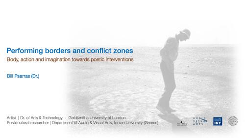Ομιλία του Βασίλη Ψαρρά στο συνέδριο 'Area Studies in Flux' στο UCL (Λονδίνο)