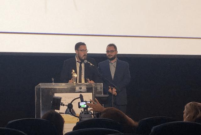 Βραβείο Κοινού - Καλύτερης Μικρού Μήκους Ταινία στον Ιάκωβο Παναγόπουλο
