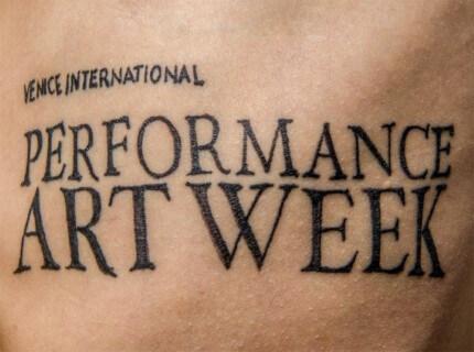 Συμμετοχή του Francesco Kiàis στην Venice International Performance Art Week