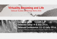 Virtuality, Becoming and Life: Deleuze Studies Conference 2016 Rome - Call for Papers