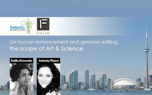 GeNeDis 2018 Special Session: On human enhancement and genome editing: the scope of Art & Science