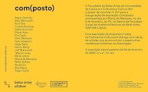 Συμμετοχή της Επίκ. Καθηγήτριας Dalila Honorato στην έκθεση Com(posto)